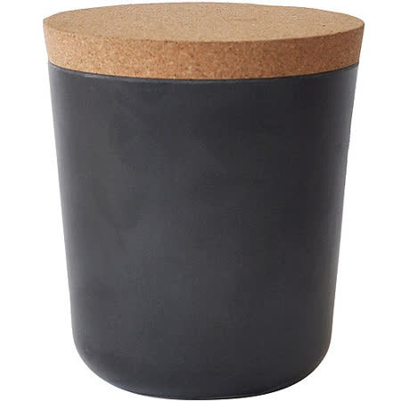 《BIOBU》Gusto軟木蓋儲物罐(黑L)