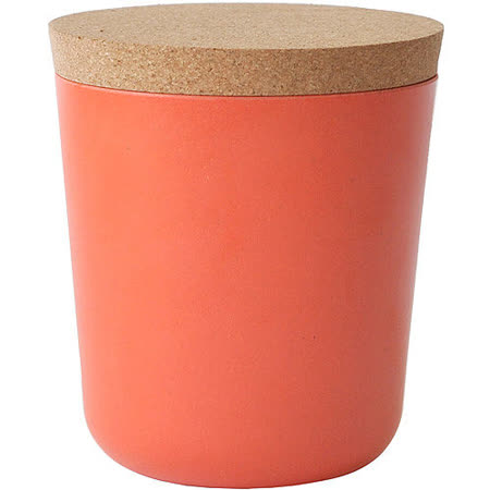 《BIOBU》Gusto軟木蓋儲物罐(橘L)