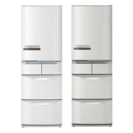 領券再折$1750【日立HITACHI】420公升日本製五門超變頻冰箱 RS42EMJ(右開)
