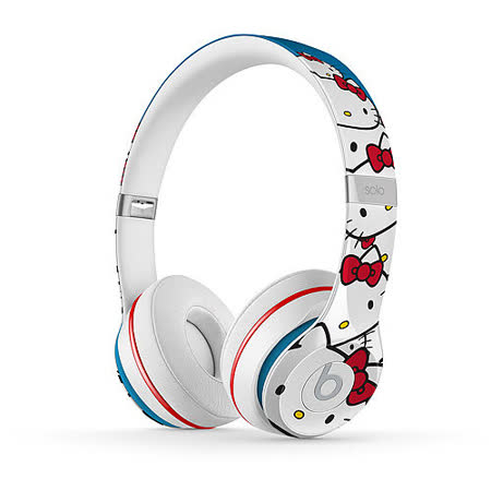 Beats Solo 2 Hello Kitty 40週年特別限量版耳罩式耳機~