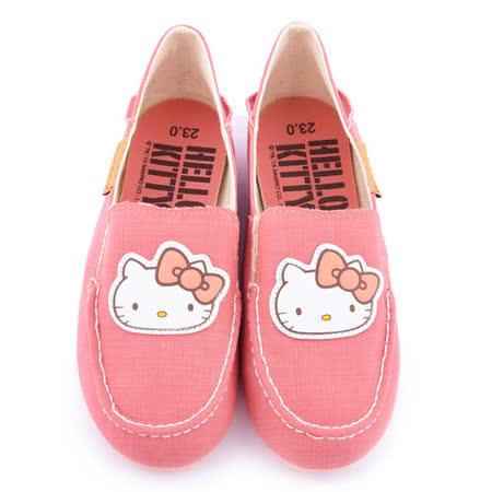 TEENS-Hello Kitty 女款 輕量復古休閒鞋915037-粉
