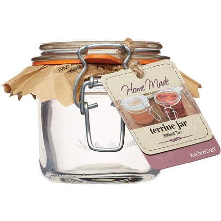 《KitchenCraft》扣式密封玻璃罐(200ml)