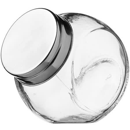 《KitchenCraft》斜式玻璃密封罐(180ml)