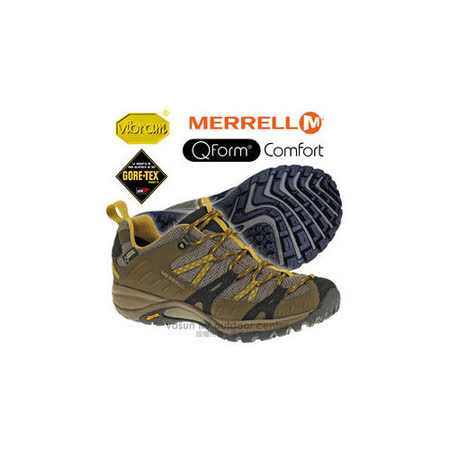 【美國 MERRELL】女新款 SIREN SPORT GORE-TEX 多功能郊山健走鞋_橄欖色 ML21438