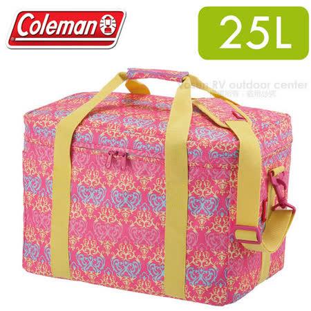 【美國Coleman】紅葉圖騰保冷袋25L _CM-22229
