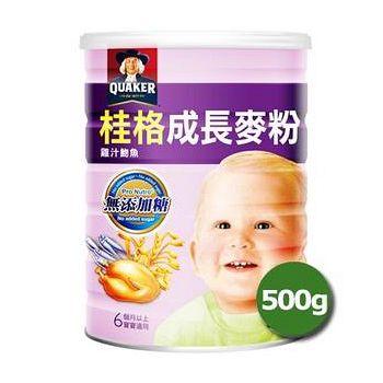 桂格 成長麥粉(雞.蛋.吻) 500g