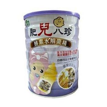 肥兒八珍 酵素水解麥精(買6送1) 700g