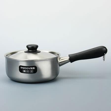 日本 柳宗理 IH 3層鋼 不鏽鋼 片手鍋 18cm