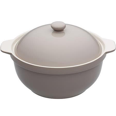 【勸敗】gohappy 線上快樂購《KitchenCraft》附蓋陶製湯鍋(灰褐)有效嗎愛 買 量販 店 dm