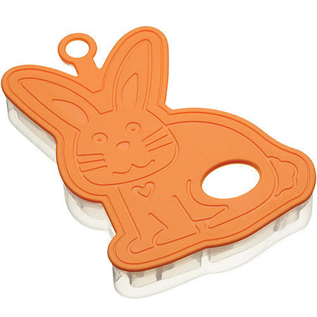 《KitchenCraft》3D餅乾切模(兔子)