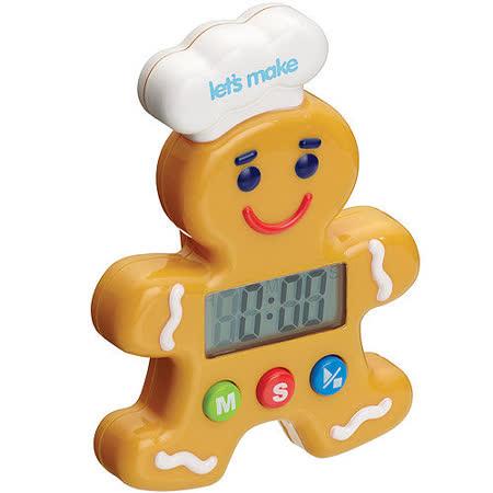 《KitchenCraft》薑餅人電子計時器