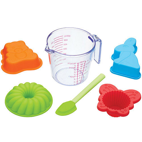 《KitchenCraft》兒童量杯烘焙模具6件