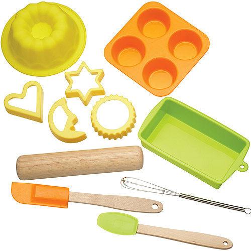 《KitchenCraft》兒童烘焙工具模具11件