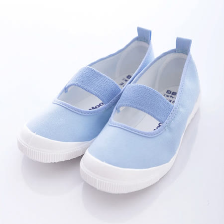 日本月星頂級競速童鞋-日本製原裝室內鞋機能款-MS1951藍(15cm-21cm)