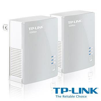 TP-LINK TL-PA4010KIT AV500 微型電力線網路橋接器 雙包組