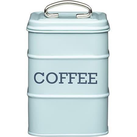《KitchenCraft》復古咖啡收納罐(藍)