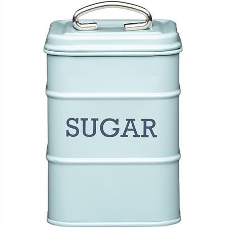 《KitchenCraft》復古糖收納罐(藍)