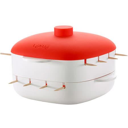 【網購】gohappy快樂購《LEKUE》8支迷你串燒蒸煮盒哪裡買台中 復興 愛 買