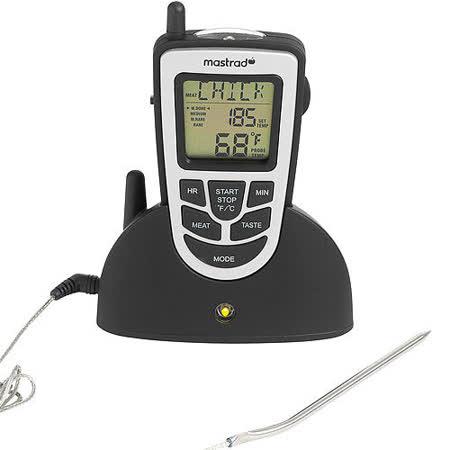 《MASTRAD》探針計時溫度計(無線傳輸)
