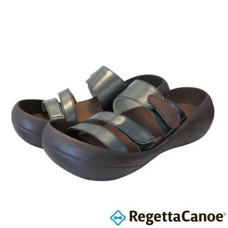 RegettaCanoe _(女款)CJBF-5148優雅樂步休閒鞋-經典黑