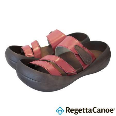 RegettaCanoe _(女款)CJBF-5148優雅樂步休閒鞋-正紅色