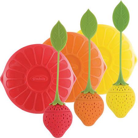 《TRUDEAU》莓果濾茶器+蓋