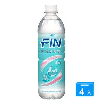 黑松FIN水漾輕補給飲料580ml*4