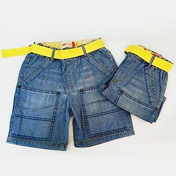 Levi's 牛仔短褲 (粉藍)
