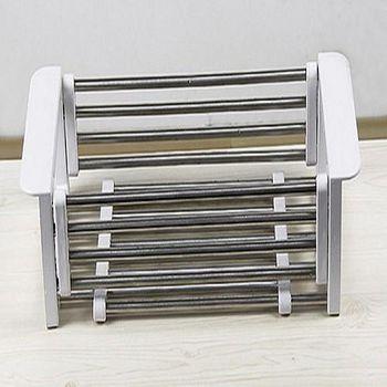 樂膳 不鏽鋼伸縮水槽瀝水架