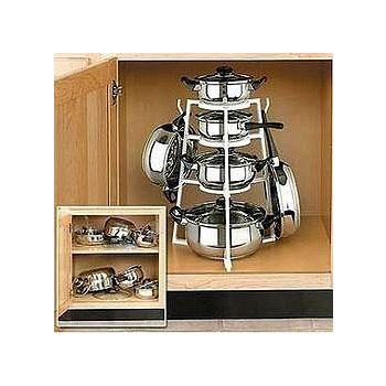 樂膳 多用途廚房鍋具四層架