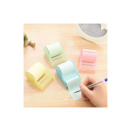 【PS Mall】可愛便條紙隨心便利貼 捲筒式可撕膠帶 N次貼_2個 (J294)