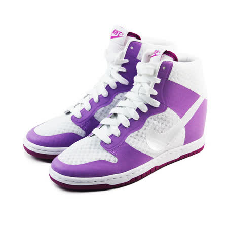 (女)NIKE WMNS DUNK SKY HI 2.0 BR 休閒鞋 白/粉紫-725069102