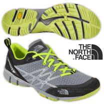 【美國 The North Face】男新款 ULTRA KILOWATT 透氣耐磨戶外多功能鞋_CCF8 石碑灰/日光黃
