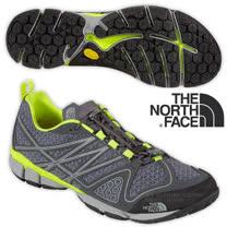【美國 The North Face】男新款 ULTRA CURRENT 透氣耐磨戶外多功能鞋_CCE4 鋅灰/日光黃