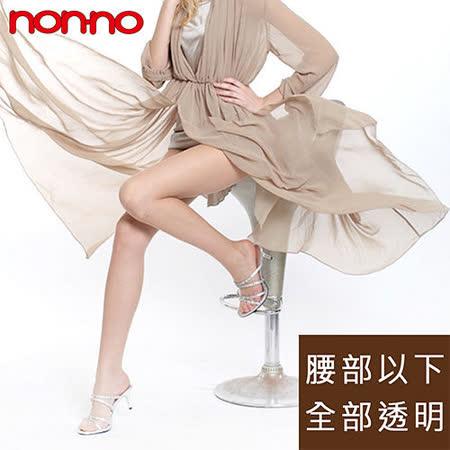 【non-no儂儂】全透明超彈性褲襪(18雙/組)
