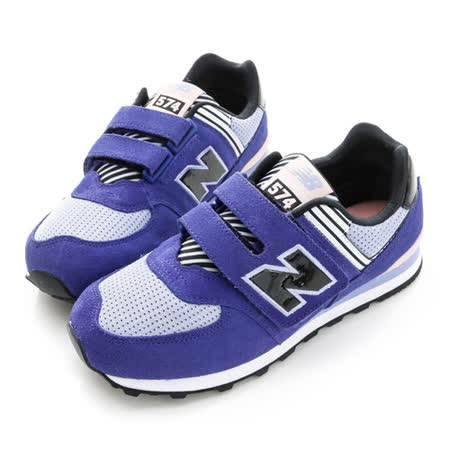 New Balance(童)復古慢跑鞋-紫-KV574LRY