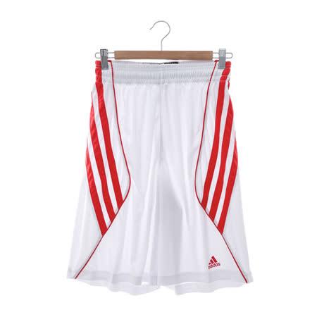 adidas(男)籃球短褲-白-D83168
