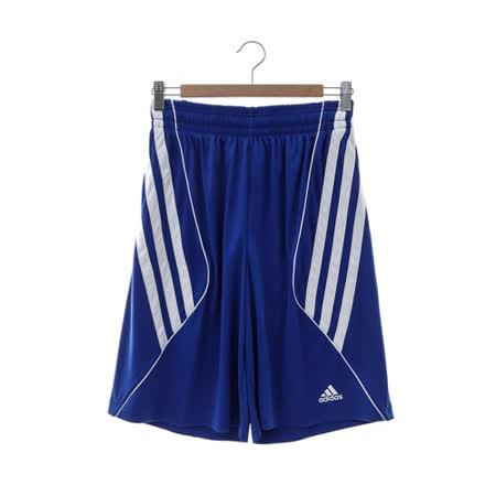 adidas(男)籃球短褲-藍-D83171