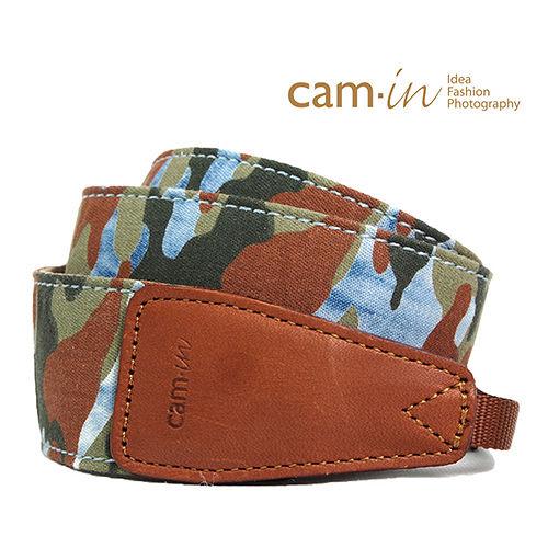 Cam in迷彩牛仔相機背帶(CAM7147)