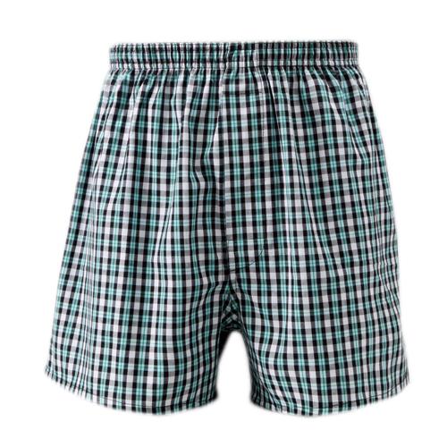 歐風 平織織帶平口褲^(M^~XL^)