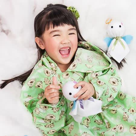【rainstory】棉花羊兒童連身雨衣