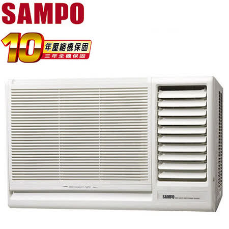[促銷]SAMPO聲寶 11-15坪右吹定頻窗型冷氣(AW-PA72R)送安裝