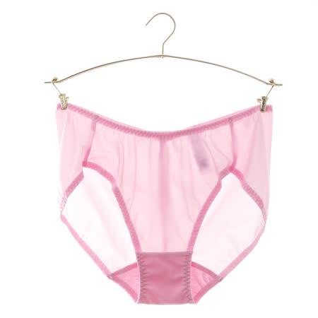 品牌特賣匯-【華歌爾】冰涼紗WINCOOL系列M-LL三角褲(莓凍粉)