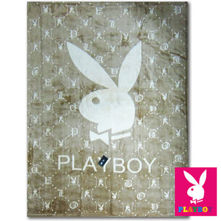 【PLAYBOY-金采時尚】細柔舒適冷氣毯