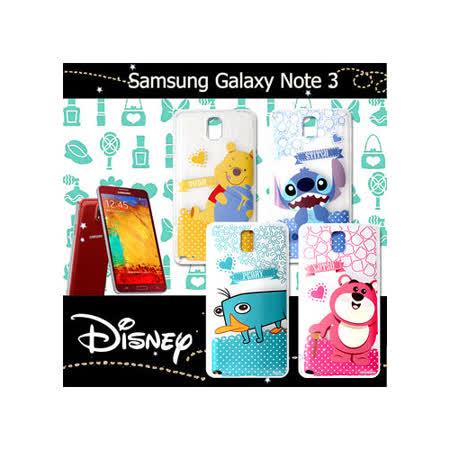 迪士尼授權正版 三星 Samsung Galaxy Note 3 休閒點點透明軟式保護套 手機殼 (新秀組)