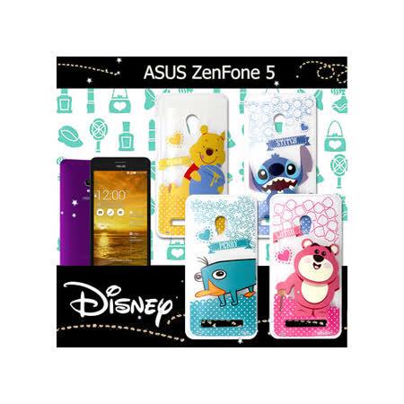 迪士尼授權正版 華碩 ASUS ZenFone 5 A500CG 休閒點點透明軟式保護套 手機殼 (新秀組)