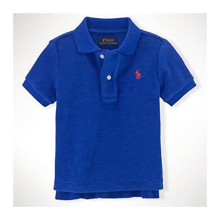 美國 Ralph Lauren 童裝 嬰兒 Polo衫 短袖 上衣 Logo 藍色 9M 12M 18M (RL0030)