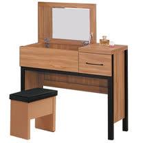 HAPPYHOME 沐掀鏡2.7尺化妝台-含椅子635-5