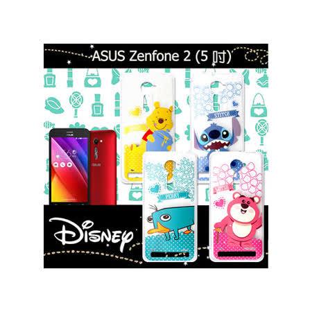 迪士尼授權正版 華碩 ASUS ZenFone 2 5.0吋 休閒點點透明軟式保護套 手機殼 (新秀組)