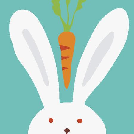 【ArtLife】創意油畫、數字油畫DIY_(兔子)